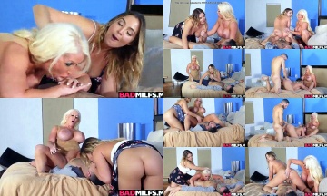 Alura Jensen joins her stepdaughter fucking her boyfriend